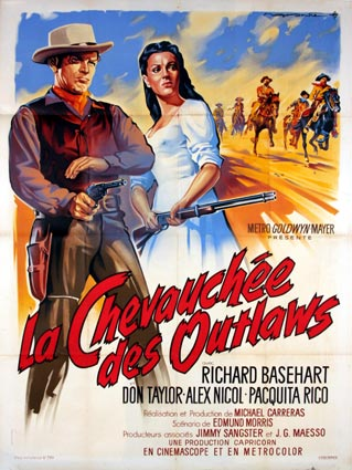 CHEVAUCHEE DES OUTLAWS (la)