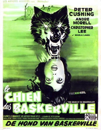 Hound Of The Baskerville (the) by Terence Fisher (14 x 22 in)