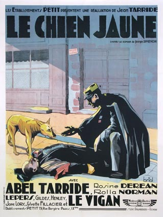 Chien Jaune (le) by Jean Tarride (47 x 63 in)