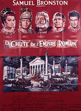CHUTE DE L'EMPIRE ROMAIN (la)