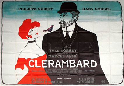 Clerambard by Yves Robert (94 x 126 in)