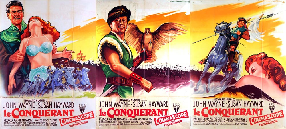 Conquerant (le) (3 Affiches) par Dick Powell