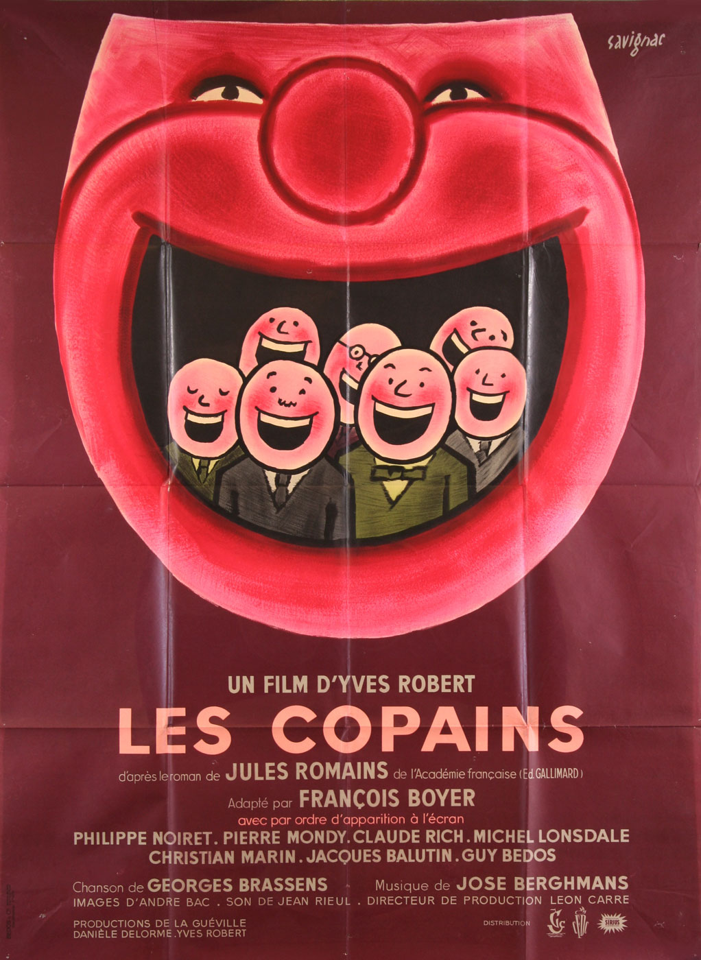 Copains (les) by Yves Robert