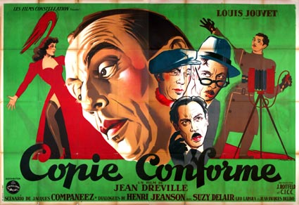 Copie Conforme by Jean Dreville (63 x 94 in)