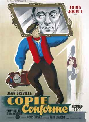 Copie Conforme by Jean Dreville (47 x 63 in)