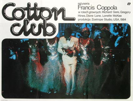 Cotton Club by Francis Ford Coppola (23 x 33 in)