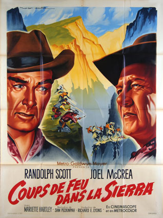 Ride The High Country by Sam Peckinpah (47 x 63 in)