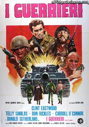 Kelly's Heroes by Brian Hutton (55 x 78 in)
