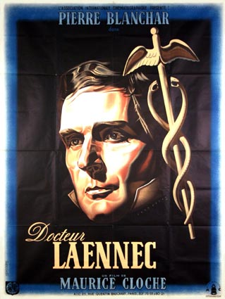 Docteur Laennec by Maurice Cloche (47 x 63 in)