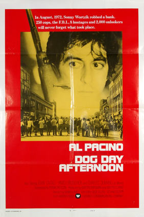 Dog Day Afternoon by Sidney Lumet (27 x 41 in)