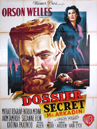 Dossier Secret par Orson Welles