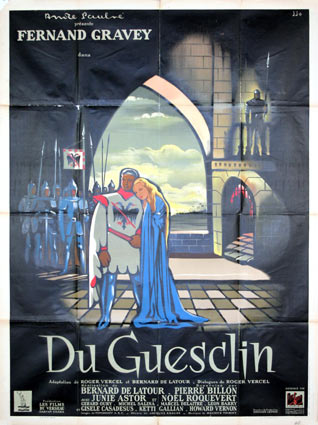 Du Guesclin by Bernard De Latour (47 x 63 in)