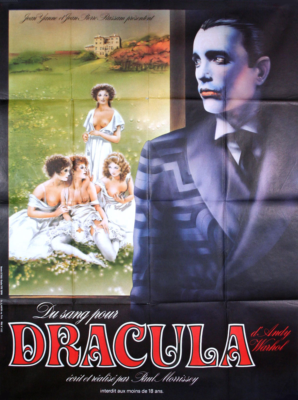 Blood For Dracula by Paul Morrissey