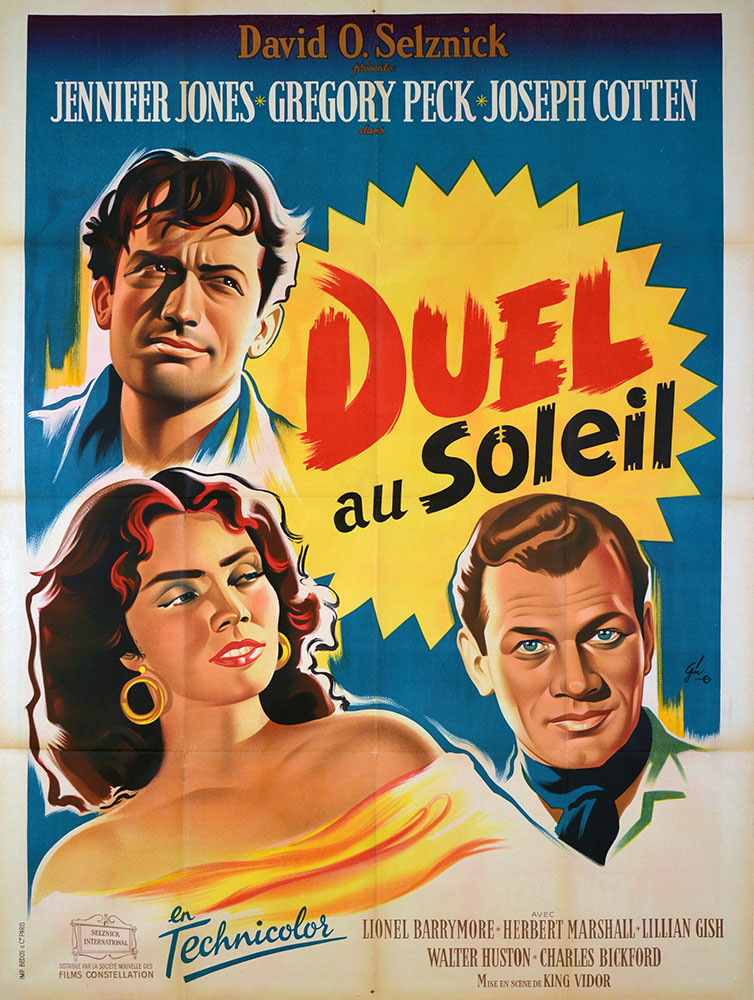 Duel In The Sun by King Vidor (47 x 63 in)