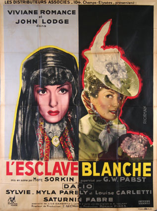 Esclave Blanche (l') by Marc Sorkin (47 x 63 in)