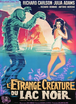 CREATURE FROM THE BLACK LAGOON R-62