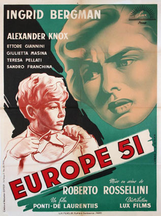 Europa 51 by Roberto Rossellini (23 x 33 in)