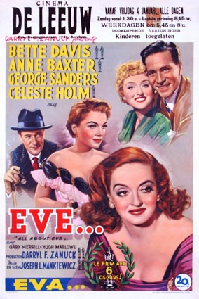 All About Eve by Joseph Mankiewicz (14 x 22 in)
