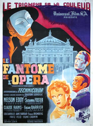 Phantom Of The Opera by Arthur Lubin