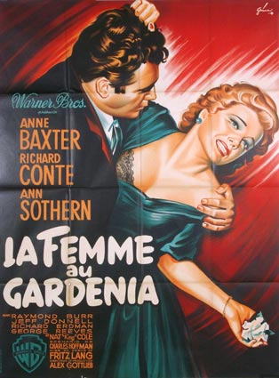 Blue Gardenia (the) by Fritz Lang (47 x 63 in)