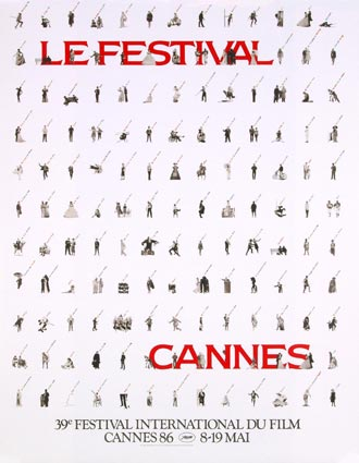Festival De Cannes 1986 by - (23 x 33 in)