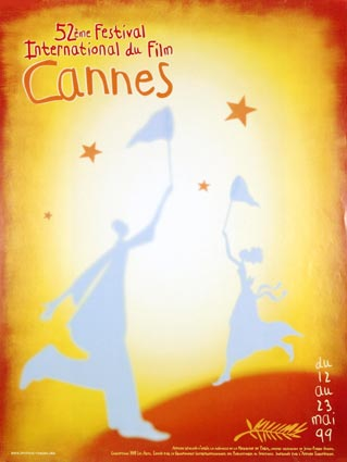 Festival De Cannes 1999 by - (23 x 33 in)