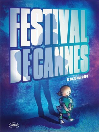 Festival De Cannes 2004 by - (23 x 33 in)