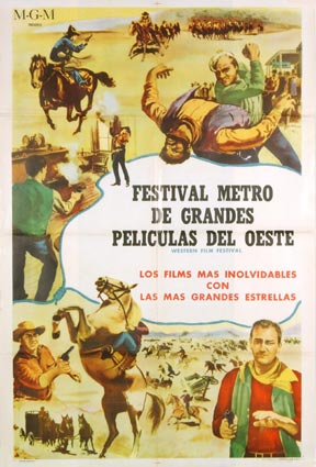 Western Mgm Festival by - (27 x 41 in)