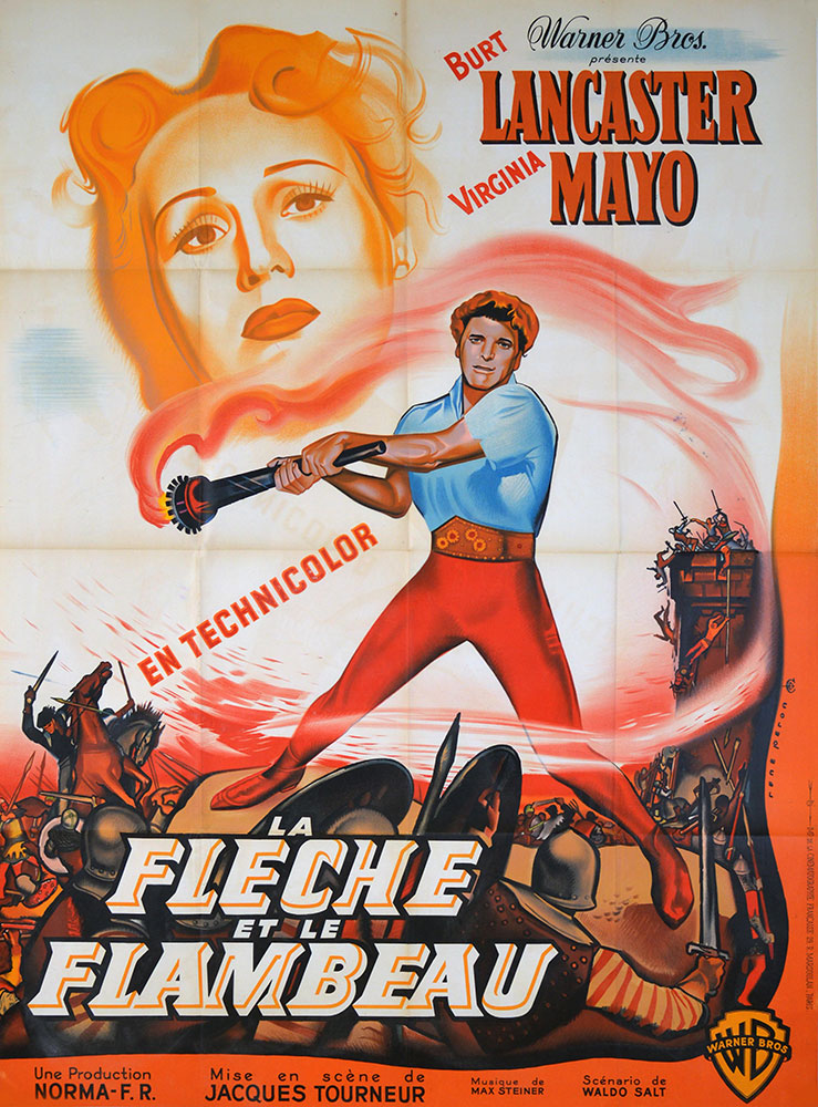 Flame And The Arrow (the) by Jacques Tourneur (47 x 63 in)