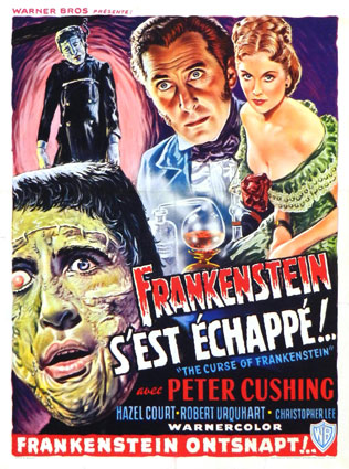CURSE OF FRANKENSTEIN (the)