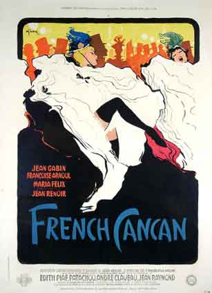 French Cancan by Jean Renoir (94 x 126 in)