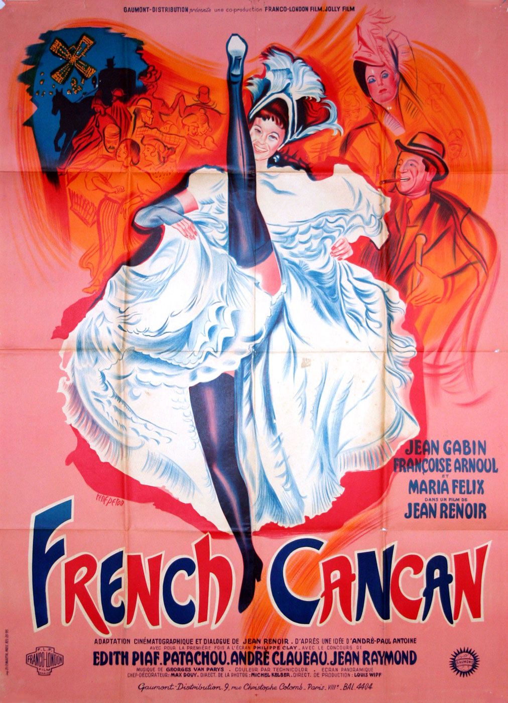 French Cancan par Jean Renoir