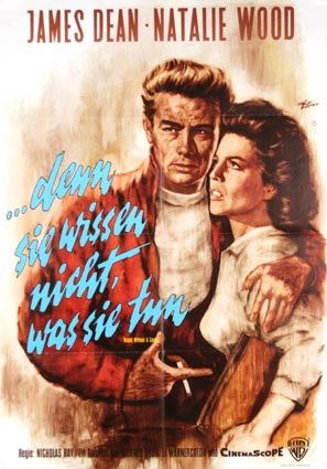 Rebel Without A Cause by Nicholas Ray (23 x 33 in)