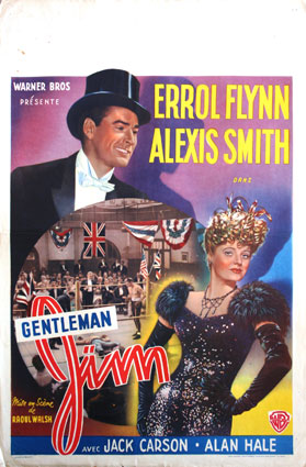 Gentleman Jim by Raoul Walsh (14 x 22 in)