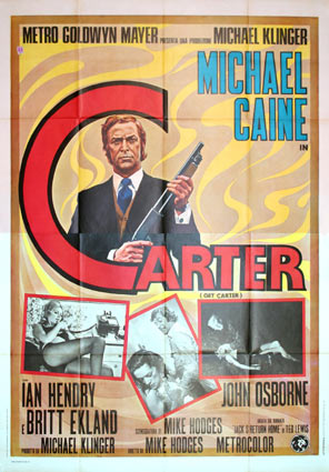 Get Carter by Mike Hodges (55 x 78 in)