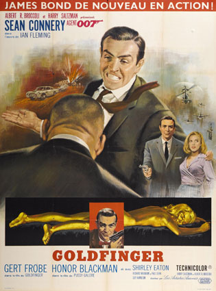Goldfinger by Guy Hamilton (47 x 63 in)