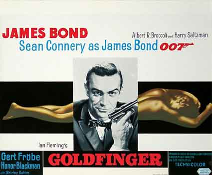 Goldfinger par Guy Hamilton