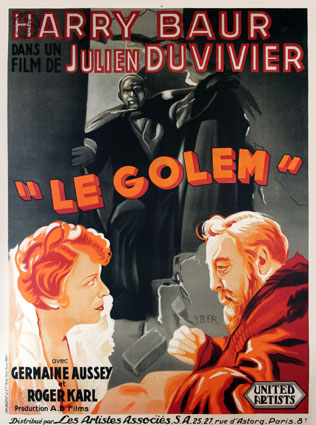 Golem (le) by Julien Duvivier