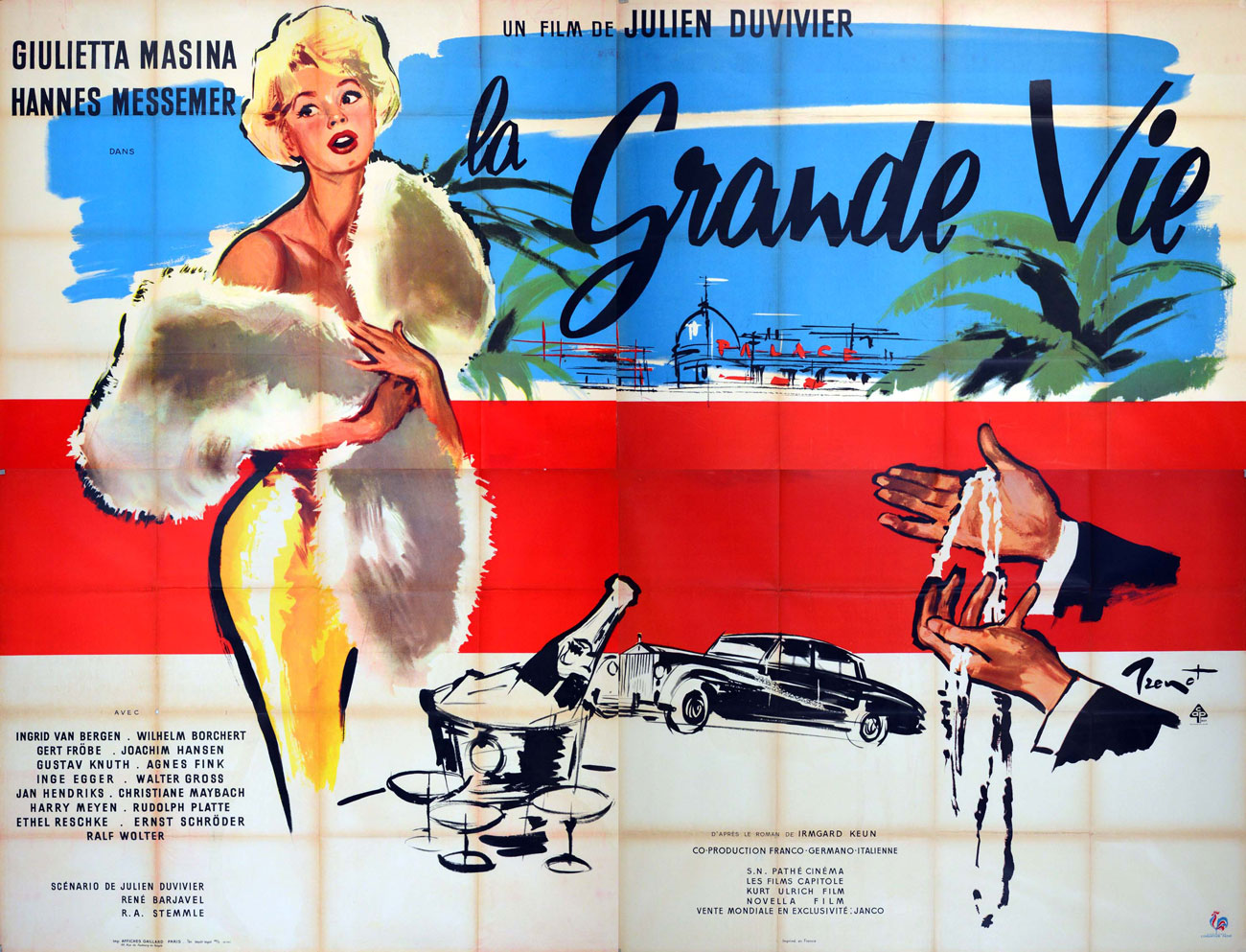Grande Vie (la) by Julien Duvivier (94 x 126 in)