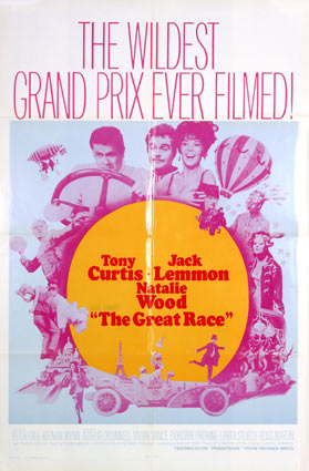 Great Race (the) R-70 by Blake Edwards (27 x 41 in)