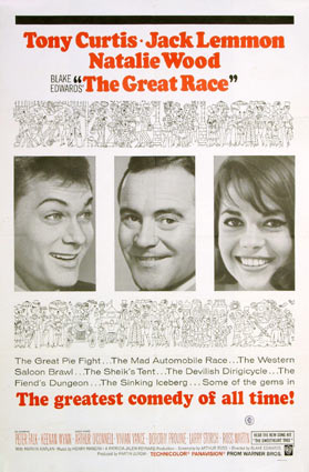 Great Race (the) by Blake Edwards (27 x 41 in)