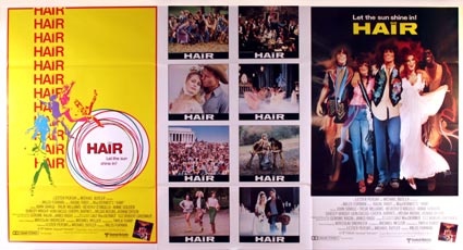 Hair by Milos Forman (41 x 81  in)