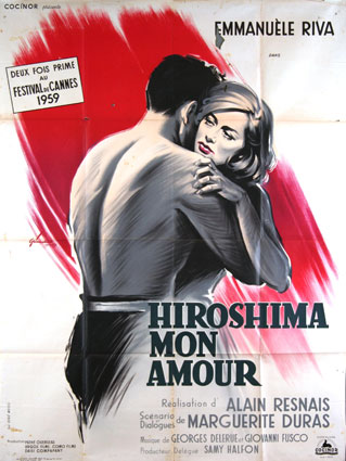 Hiroshima Mon Amour by Alain Resnais (47 x 63 in)
