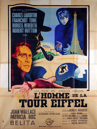 Man On The Eiffel Tower (the) by Burgess Meredith