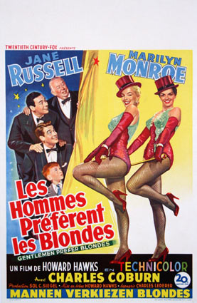 GENTLEMEN PREFER BLONDS