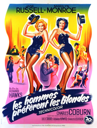 HOMMES PREFERENT LES BLONDES (les)