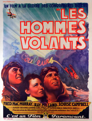 Men With Wings by William A Wellman (47 x 63 in)