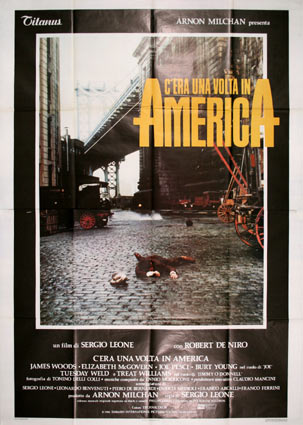 Once Upon A Time In America by Sergio Leone (55 x 78 in)
