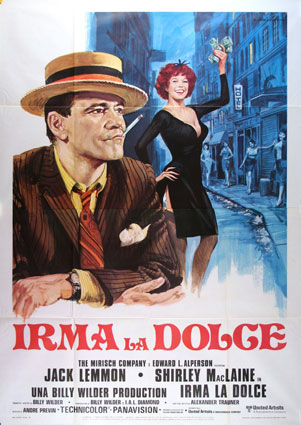 Irma La Douce par Billy Wilder