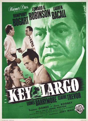 Key Largo by John Huston (23 x 33 in)